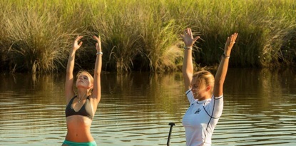 Picture of Sunset SUP Yoga