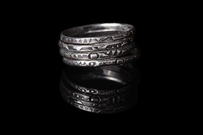 Picture of Make Your Own Silver Stacking Rings