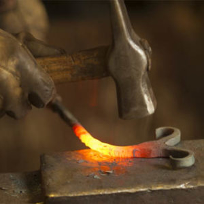An Introduction to Traditional Blacksmithing using the Hammer, Anvil and Forge